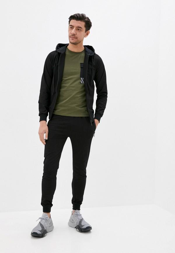 мужской спортивный костюм jackets industry, черный