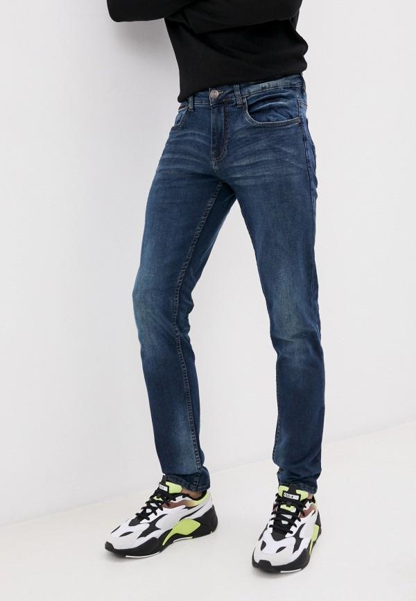 мужские зауженные джинсы jack's sportswear intl, синие