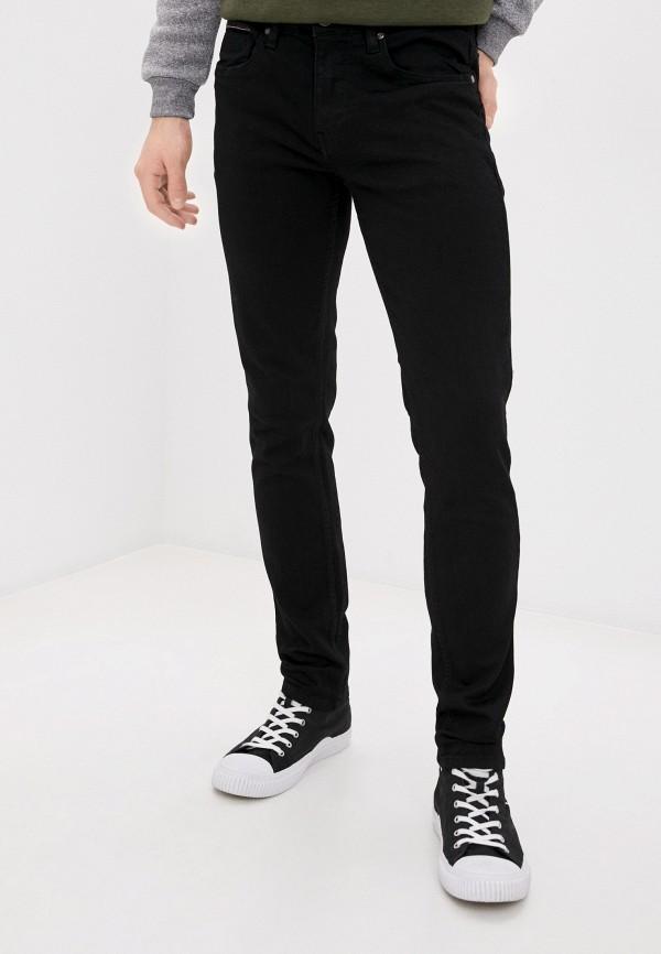 мужские зауженные джинсы jack's sportswear intl, черные