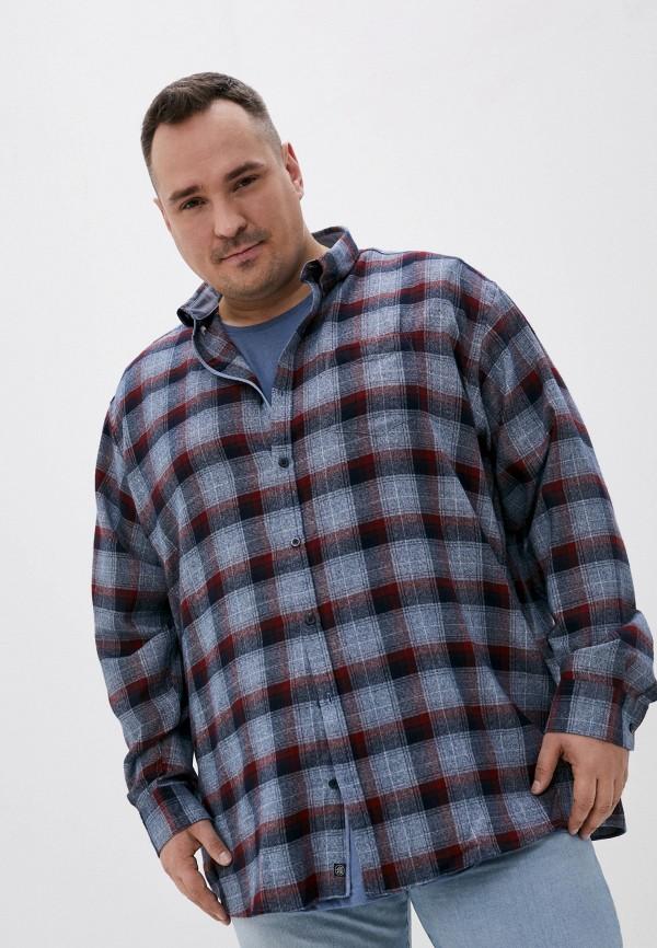 мужская рубашка с длинным рукавом jack's sportswear intl, синяя