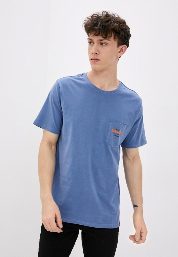 мужская футболка с коротким рукавом jack's sportswear intl, голубая