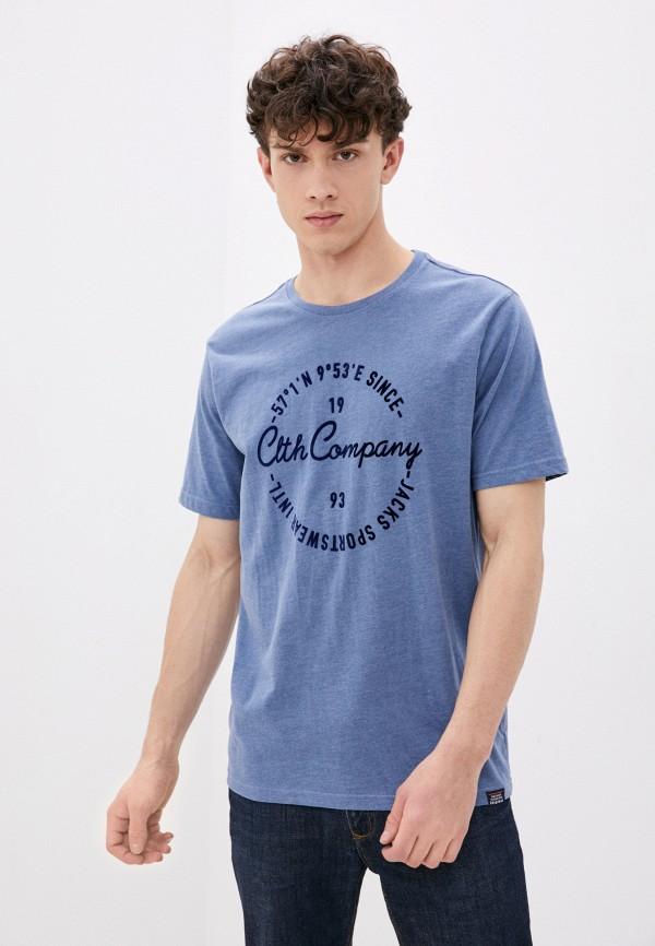 мужская футболка jack's sportswear intl, голубая