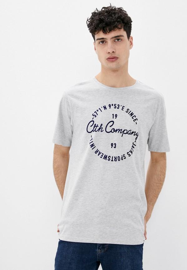 мужская футболка с коротким рукавом jack's sportswear intl, серая