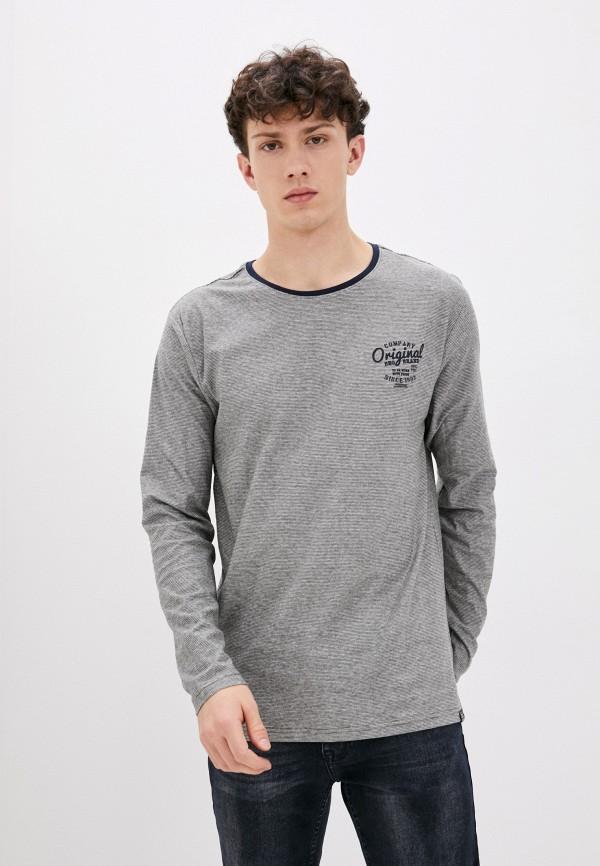 мужской лонгслив jack's sportswear intl, серый