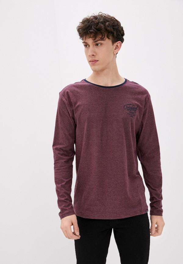 мужской лонгслив jack's sportswear intl, бордовый