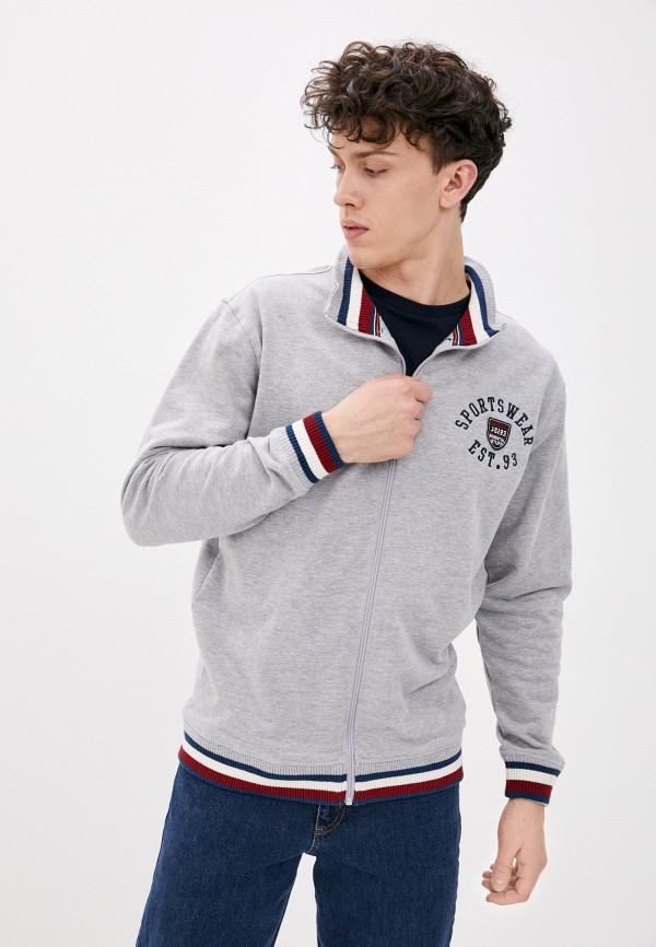 мужская олимпийка jack's sportswear intl, серая
