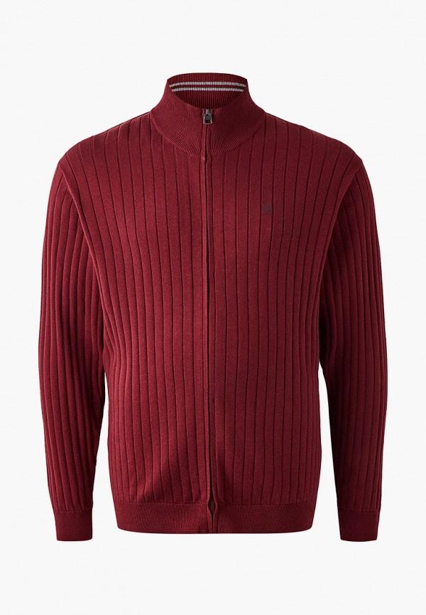 мужской кардиган jack's sportswear intl, бордовый
