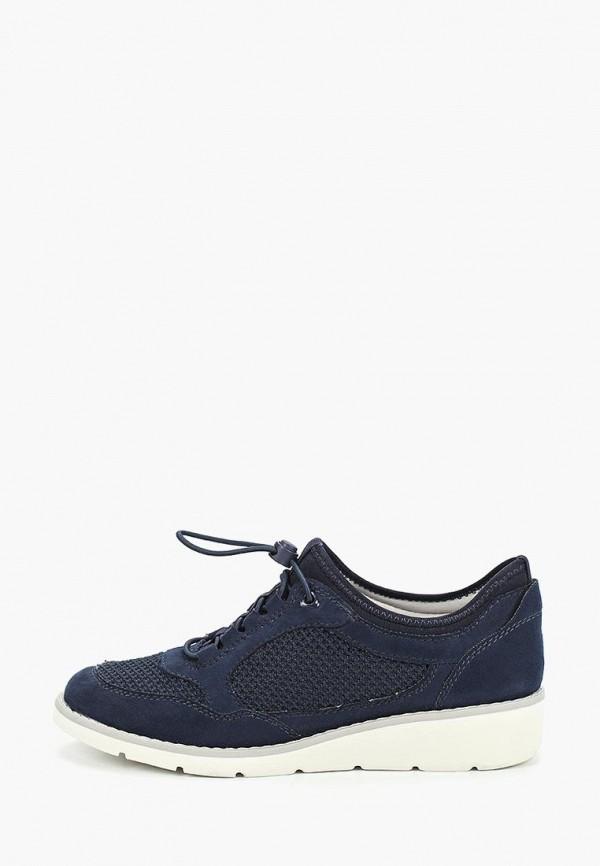женские ботинки jana, синие
