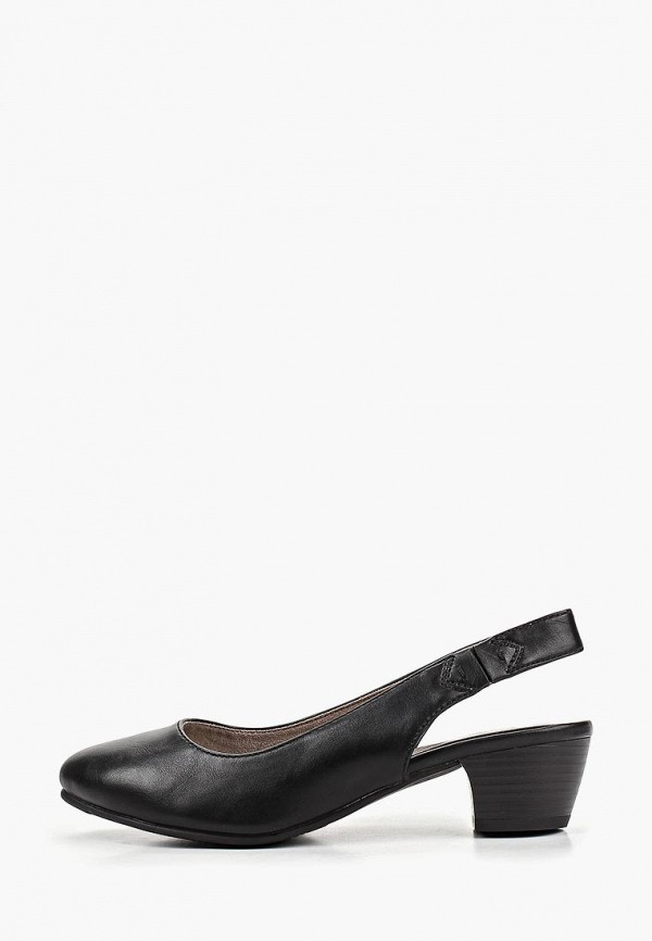 Фото - женские туфли Jana черного цвета