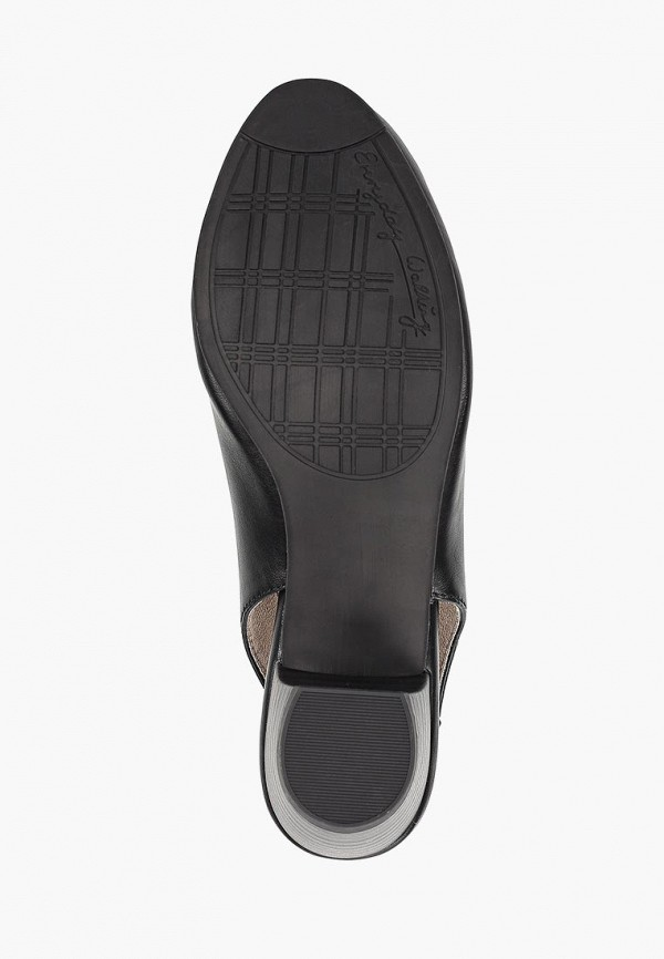 Фото 5 - женские туфли Jana черного цвета