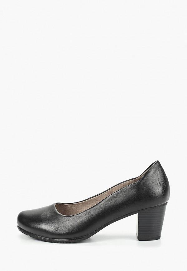 женские туфли jana, черные