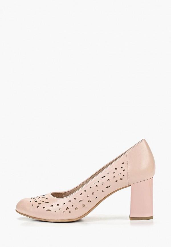 женские туфли jana, розовые