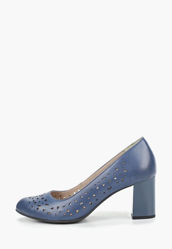 женские туфли jana, синие