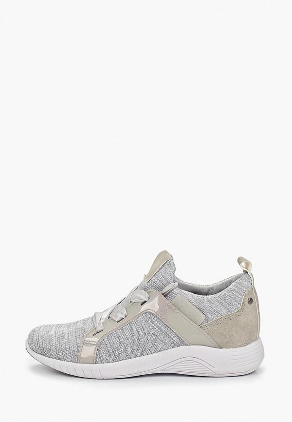 женские кроссовки jana, серые