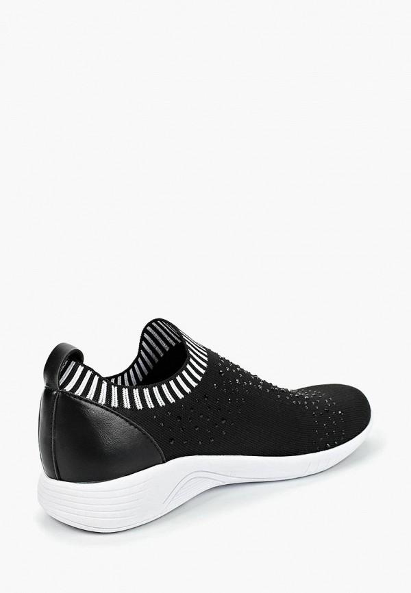 Фото 3 - женские кроссовки Jana черного цвета