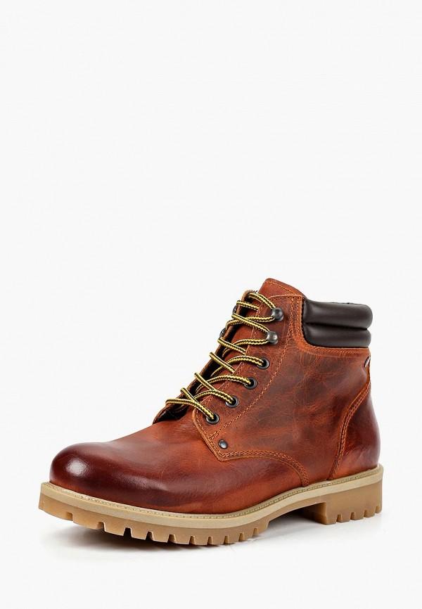 Купить Ботинки Jack & Jones, JA391AMBZTB1, коричневый, Осень-зима 2018/2019