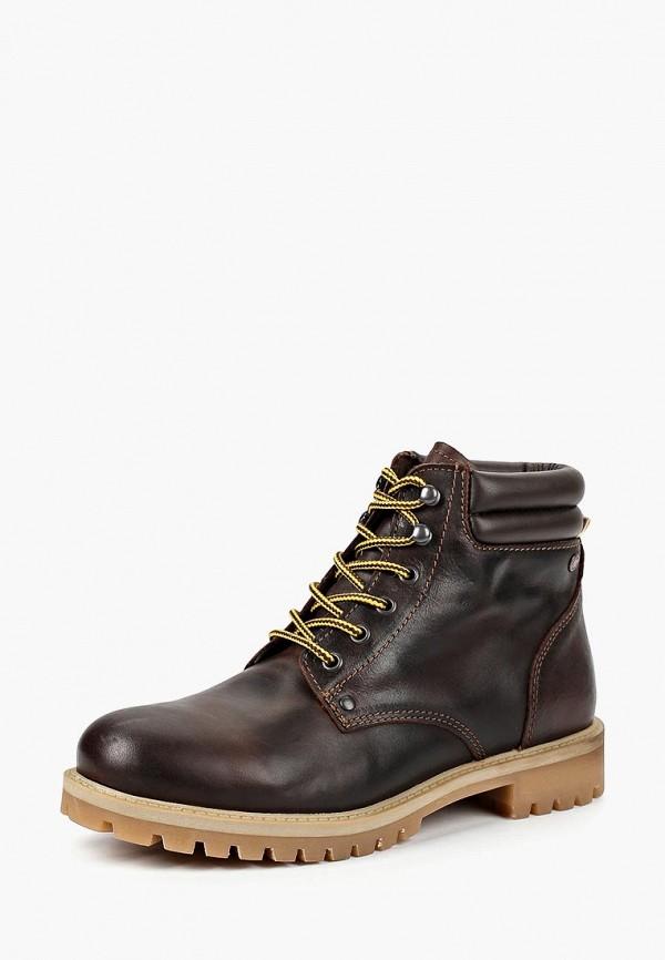 Купить Ботинки Jack & Jones, JA391AMBZTD2, коричневый, Осень-зима 2018/2019