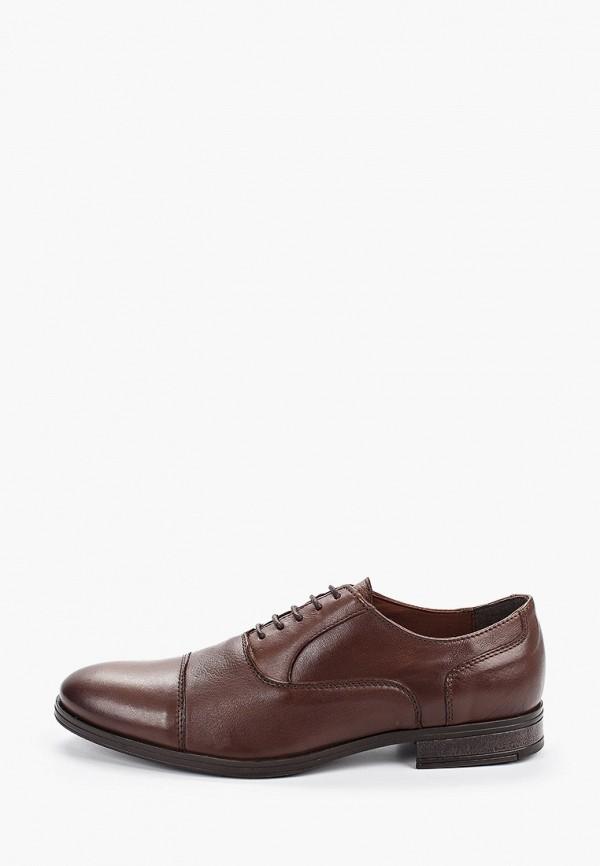 мужские туфли jack & jones, коричневые