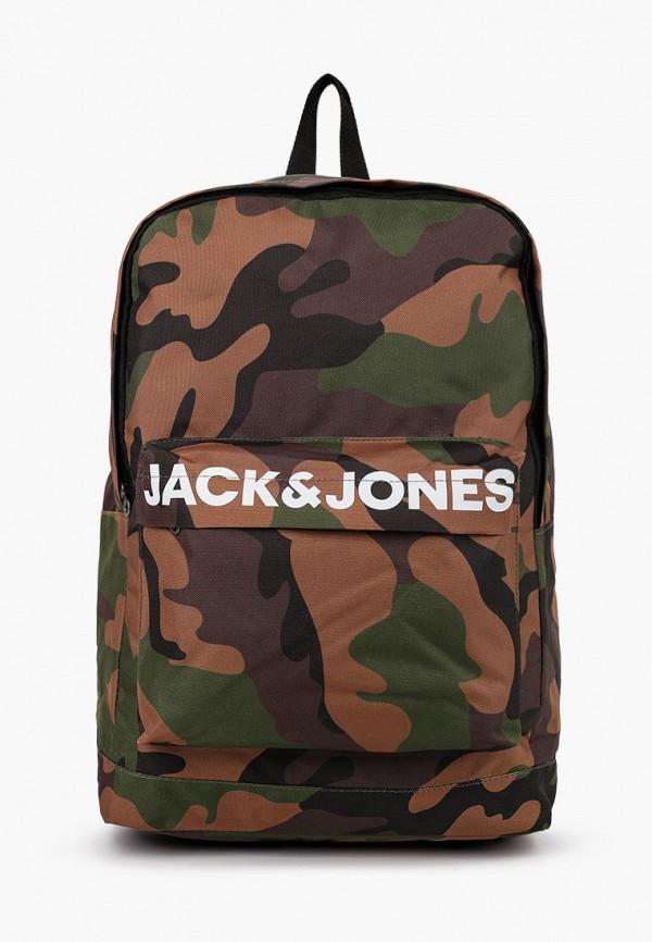 рюкзак jack & jones для мальчика, хаки