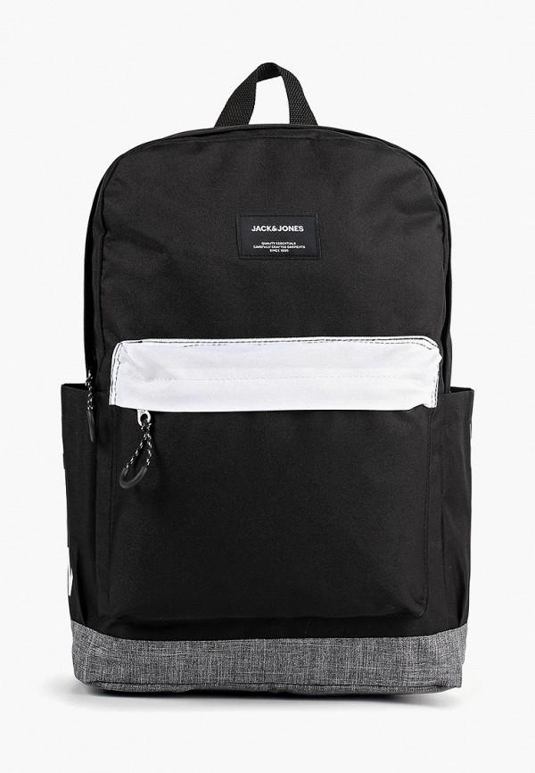 Рюкзак Jack & Jones, ja391bmeiwr0, черный, Весна-лето 2019  - купить со скидкой