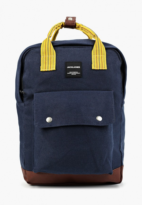 мужской рюкзак jack & jones, синий