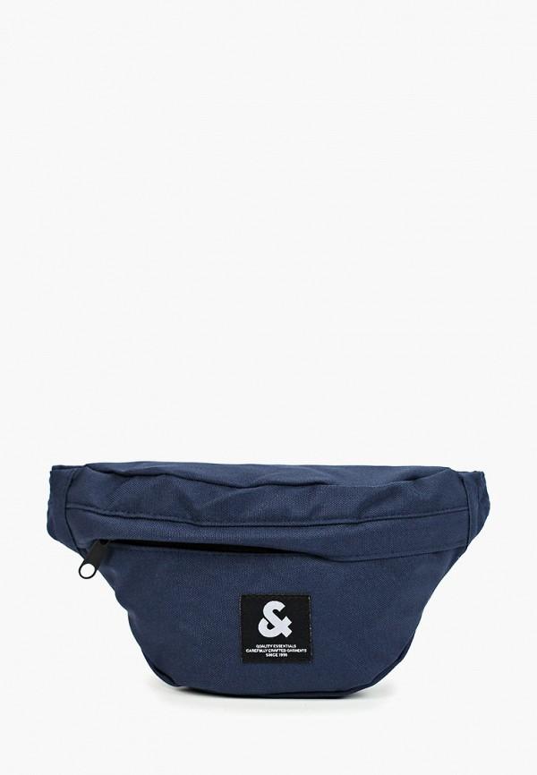 мужская сумка jack & jones, синяя