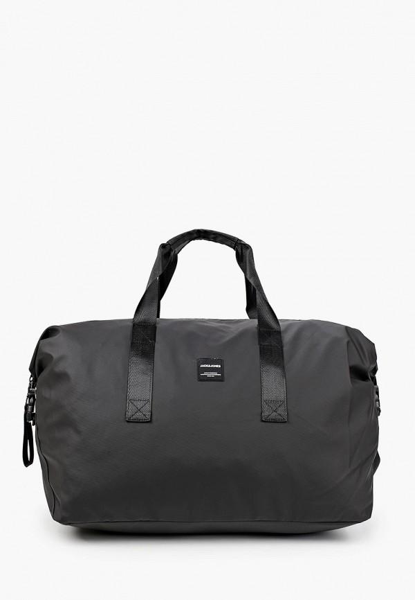 мужская сумка jack & jones, черная