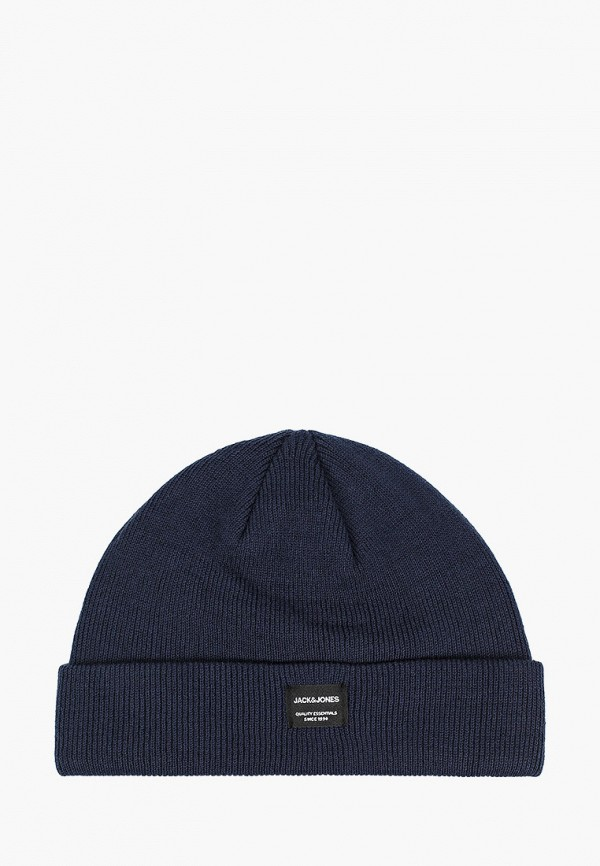 шапка jack & jones для мальчика, синяя