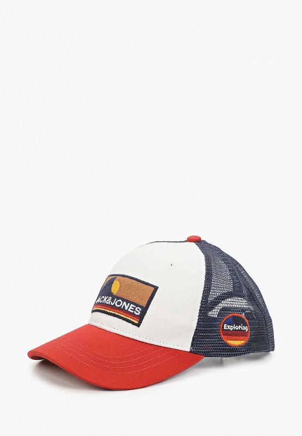 Бейсболка Jack & Jones Jack & Jones 12168834 разноцветный фото