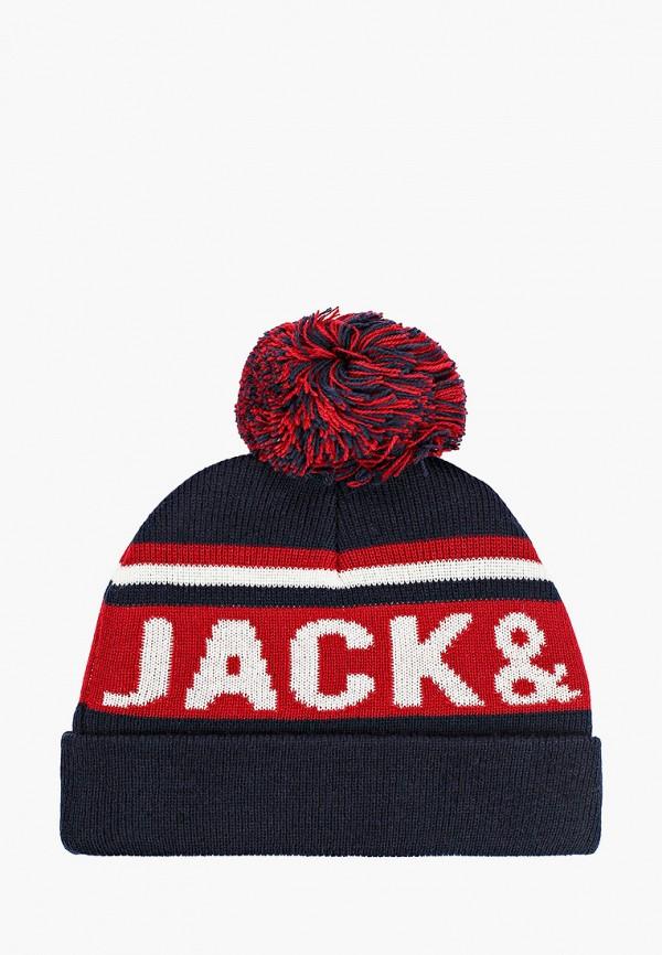 шапка jack & jones для мальчика, разноцветная
