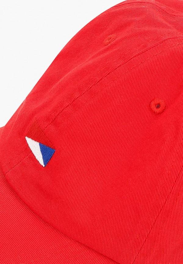 Фото 3 - Бейсболка Jack & Jones красного цвета