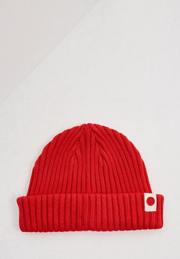 мужская шапка jack & jones, красная