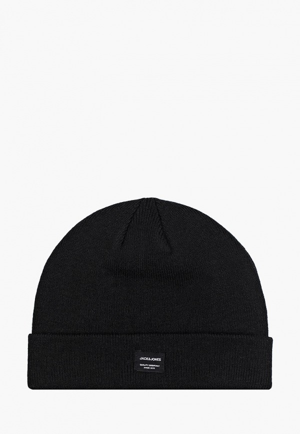 мужская шапка jack & jones, черная