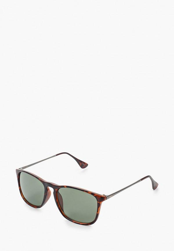 мужские солнцезащитные очки jack & jones, коричневые