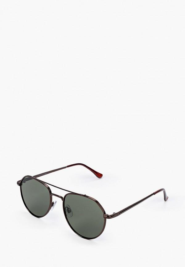 мужские солнцезащитные очки jack & jones, бордовые