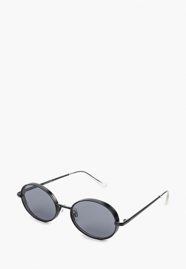 мужские солнцезащитные очки jack & jones, черные