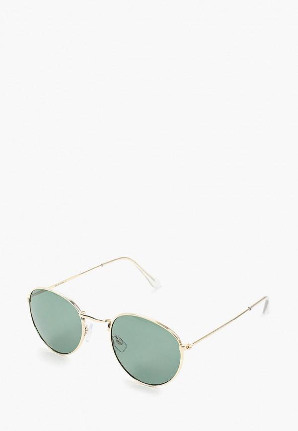 мужские солнцезащитные очки jack & jones, золотые