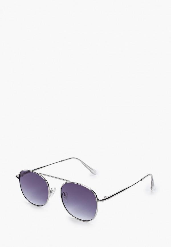 мужские солнцезащитные очки jack & jones, серебряные
