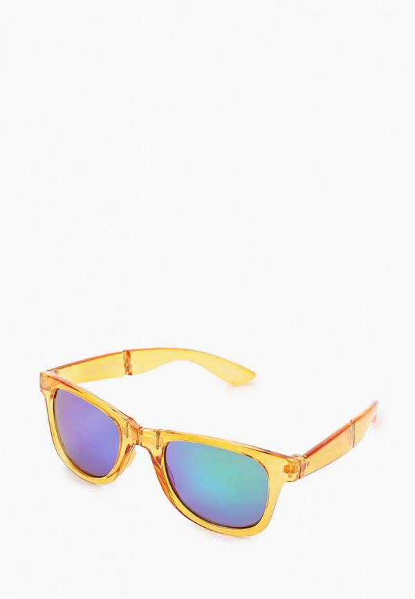 мужские солнцезащитные очки jack & jones, желтые