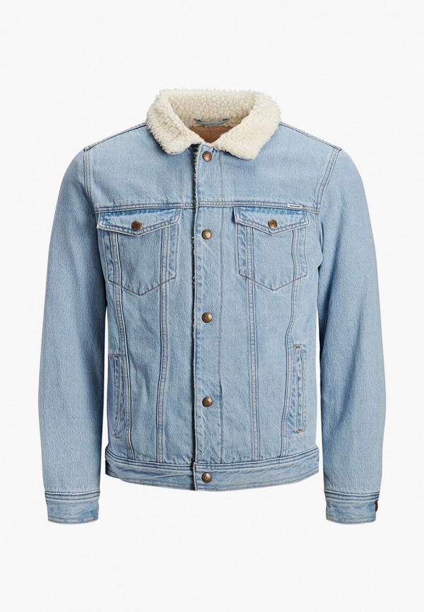 куртка jack & jones для мальчика, голубая