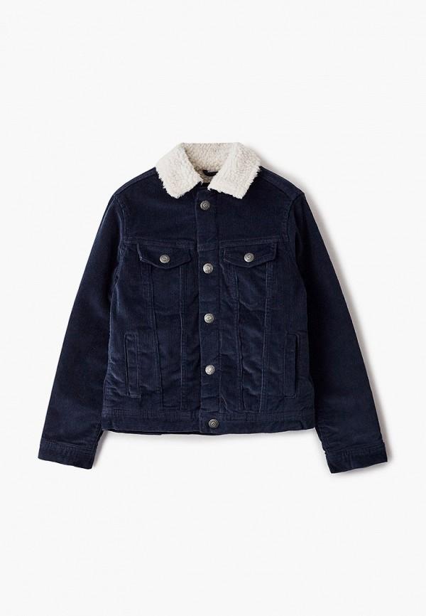 куртка jack & jones для мальчика, синяя