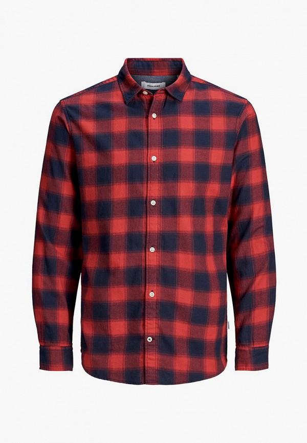 рубашка jack & jones для мальчика, красная