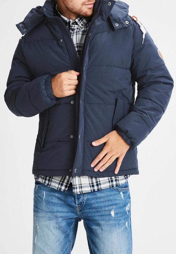 Купить Куртка утепленная Jack & Jones, JA391EMBZMD1, синий, Осень-зима 2018/2019