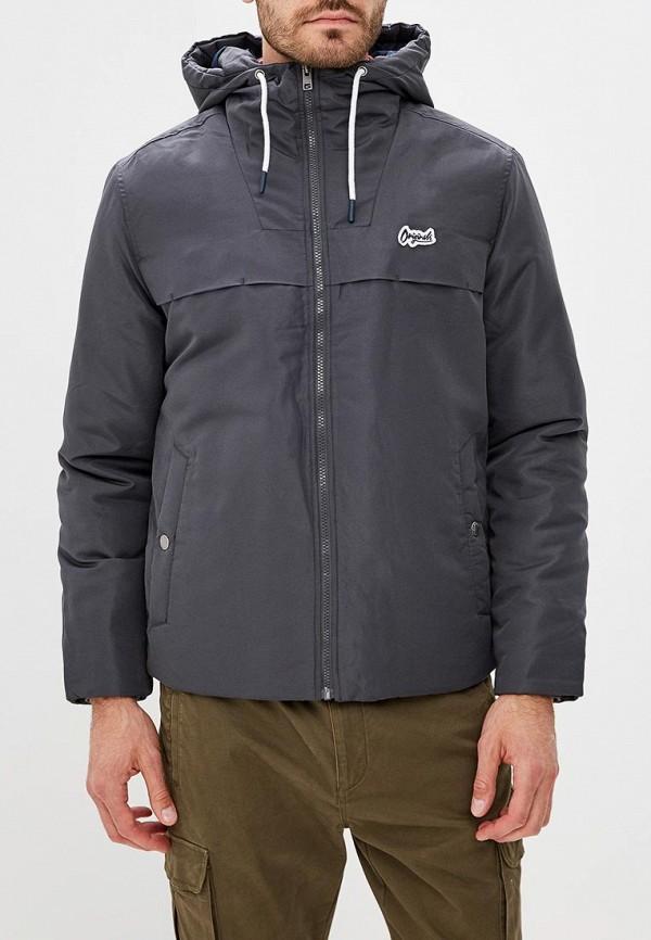 Куртка утепленная Jack & Jones, JA391EMBZMD3, серый, Осень-зима 2018/2019  - купить со скидкой