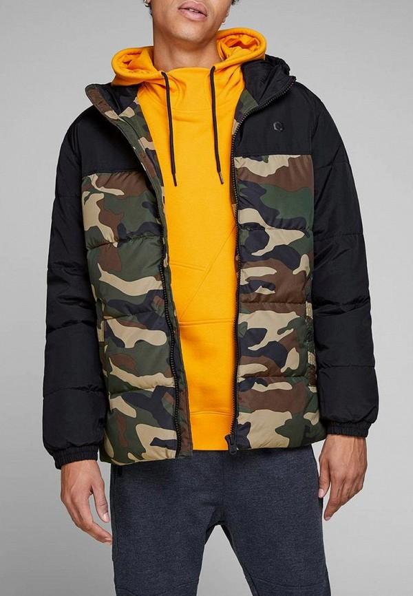 Купить Куртка утепленная Jack & Jones, JA391EMBZMF5, разноцветный, Осень-зима 2018/2019