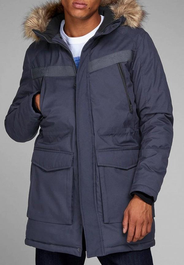 Купить Куртка утепленная Jack & Jones, ja391embzmi3, синий, Осень-зима 2018/2019