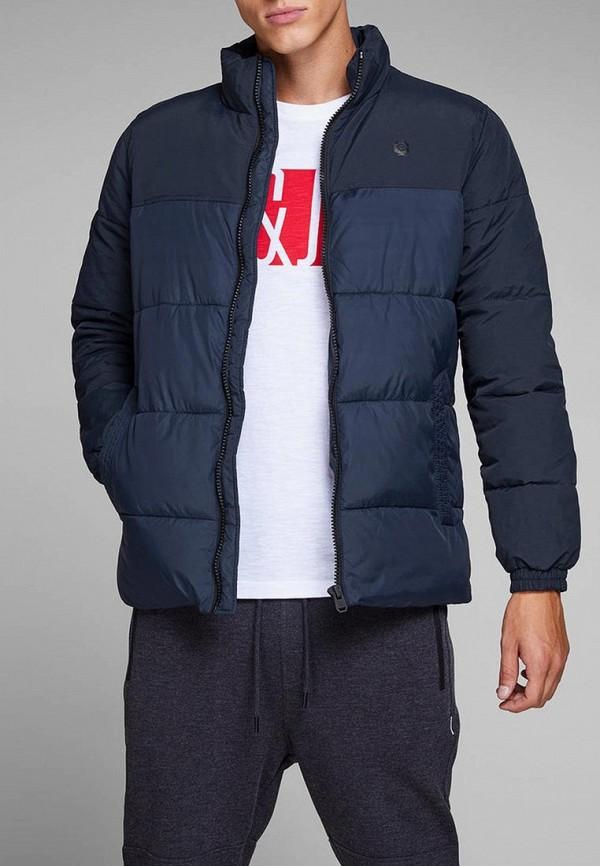Купить Куртка утепленная Jack & Jones, JA391EMBZMK3, синий, Осень-зима 2018/2019
