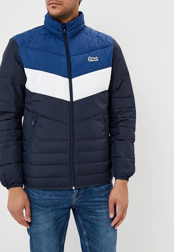 Купить Куртка утепленная Jack & Jones, JA391EMBZML2, синий, Осень-зима 2018/2019