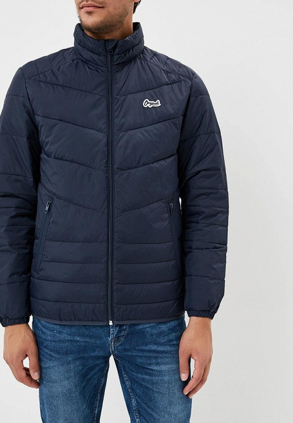 Купить Куртка утепленная Jack & Jones, JA391EMBZML5, синий, Осень-зима 2018/2019