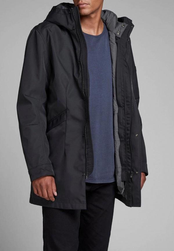 Купить Куртка утепленная Jack & Jones, ja391emcaft1, черный, Осень-зима 2018/2019